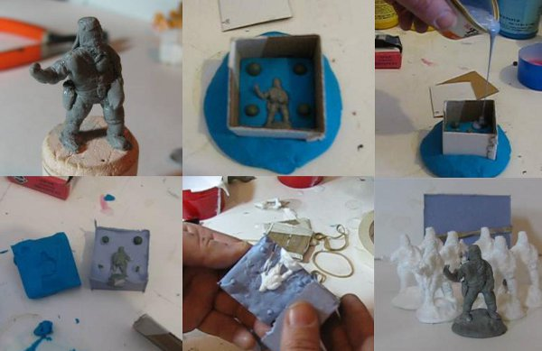 How-To: Cast your own miniatures from a master model