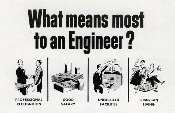 What means most to an engineer?