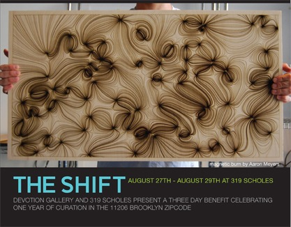 Tonight! The Shift, 3-day art event in NYC