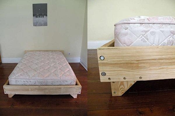 Nice DIY bedframe design