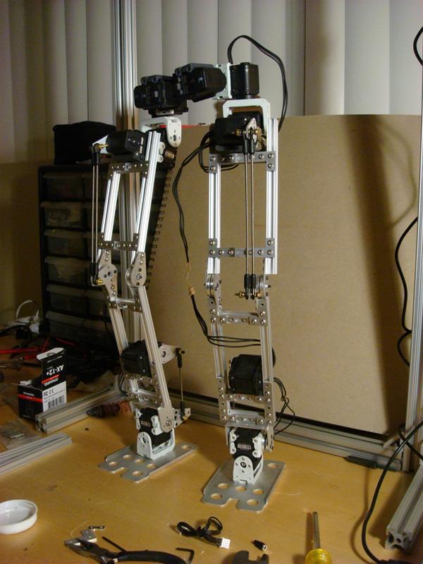 Bowz bot has two legs