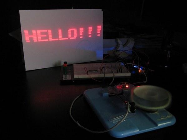 DIY pillbox laser projector