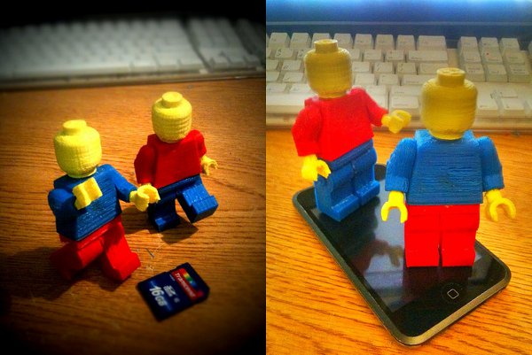 MakerBot minifigs