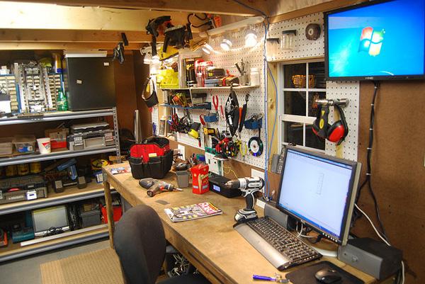 Riley's workshop