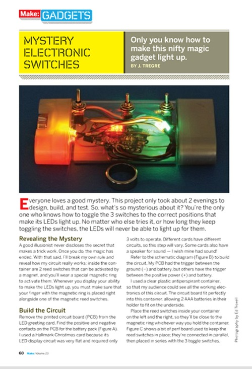Weekend Project: The Mystery Switch (PDF)