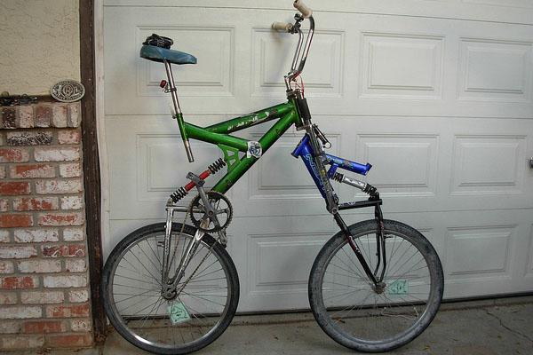 Full-suspension bicycle