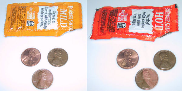Why hot sauce cleans pennies