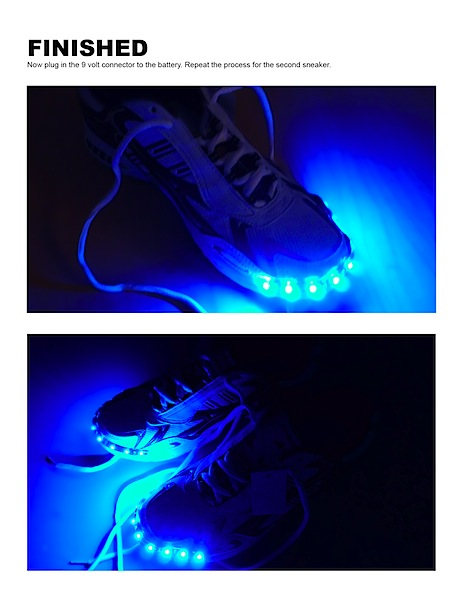 How-To: LED Sneakers