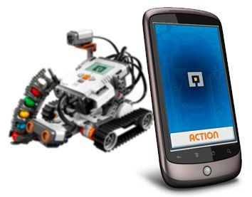 Official LEGO NXT Android control app
