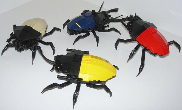 Lego beetle bots