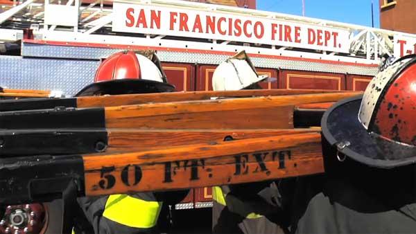 Inside the San Francisco Fire Department's wooden ladder shop