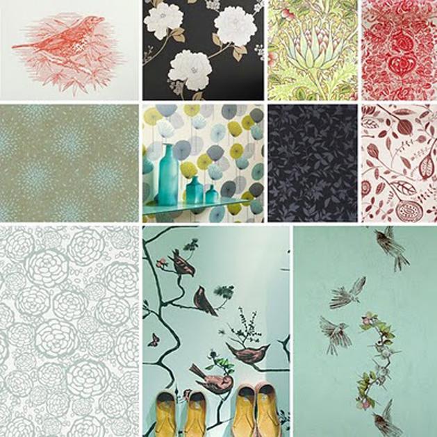 Design*Sponge's Wallpaper Resource List!