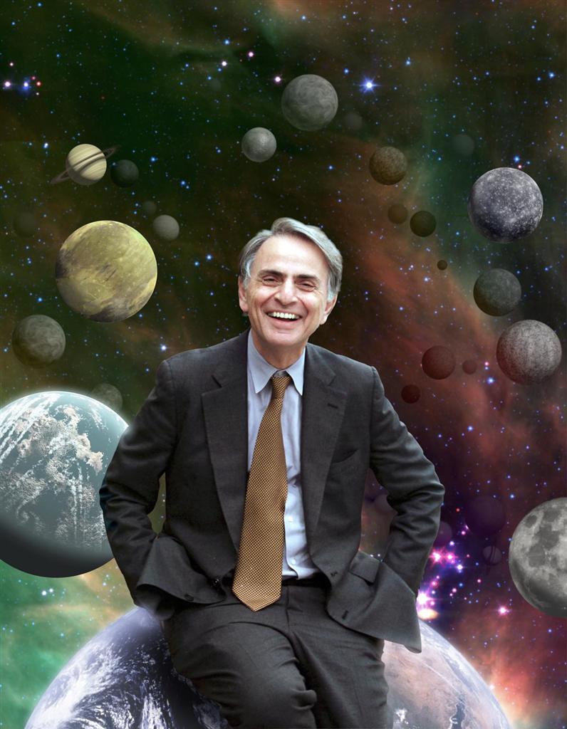 Maker Birthdays:  Carl Sagan
