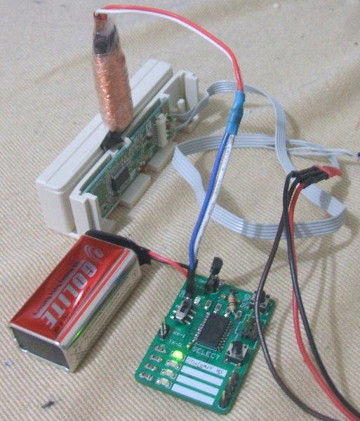 Homebrew magnetic swipe card emulator
