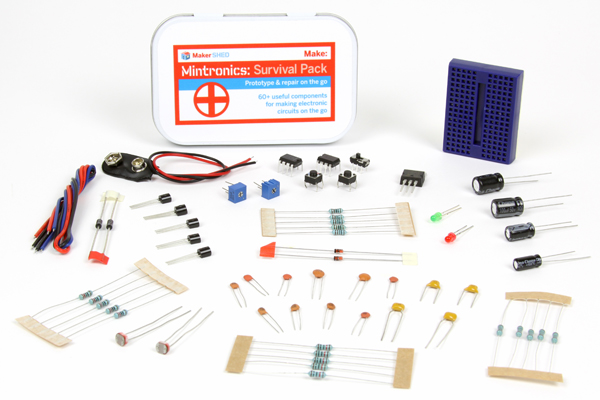 New in the Maker Shed: Mintronics – Survival Pack