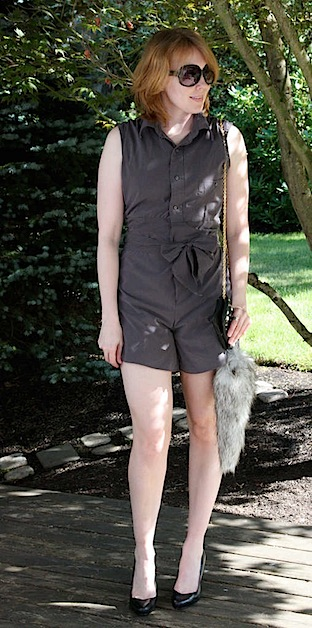 How-To: Romper from Men's Shirt