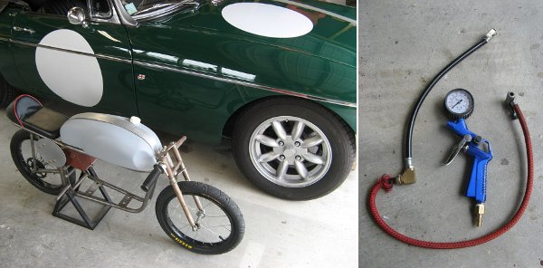 Testing the parasitic bike pump