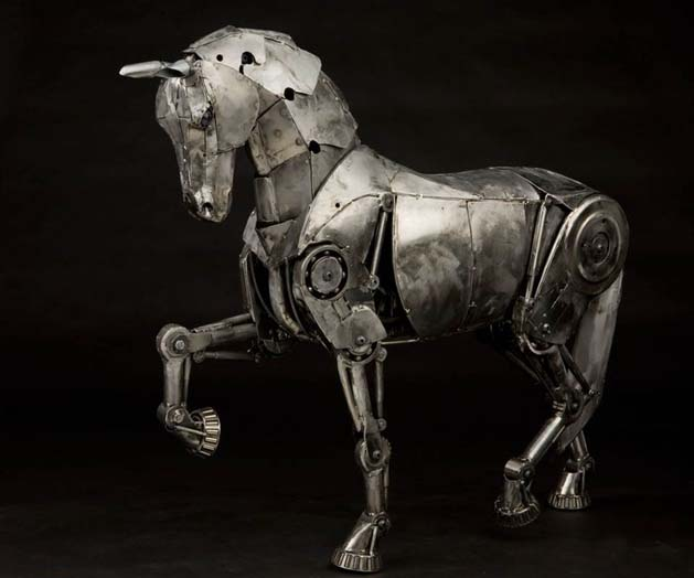 Andrew Chase's Metal Sculptures