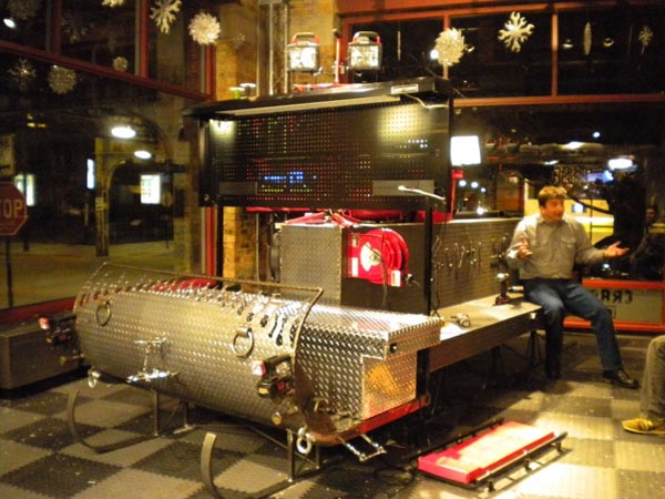 More on the Ultimate Santa's Sleigh at the Craftsman Experience Store