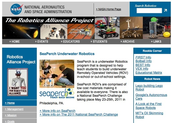 NASA Funds Nationwide High School Student Robotics Program with m