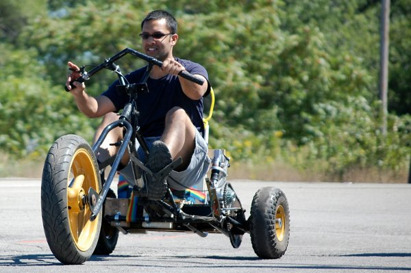 Invent a non-traditional vehicle? Race it in a competition!