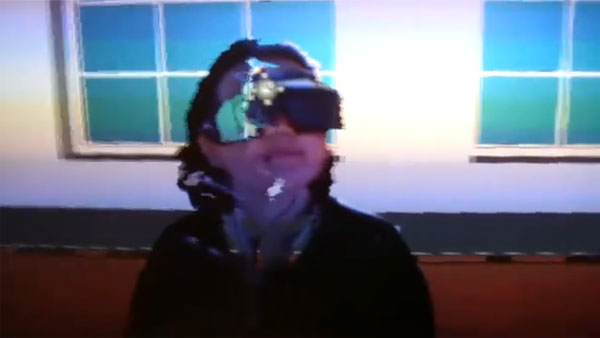 Kinect 3D holographic video chat