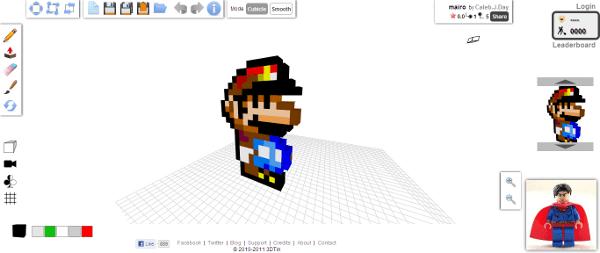 Browser-based 3D modeling