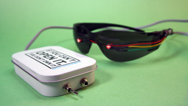 In the Maker Shed: Brain Machine kit