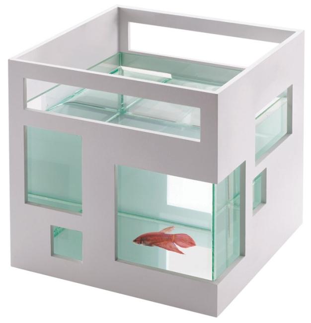 Modernist fish-condo