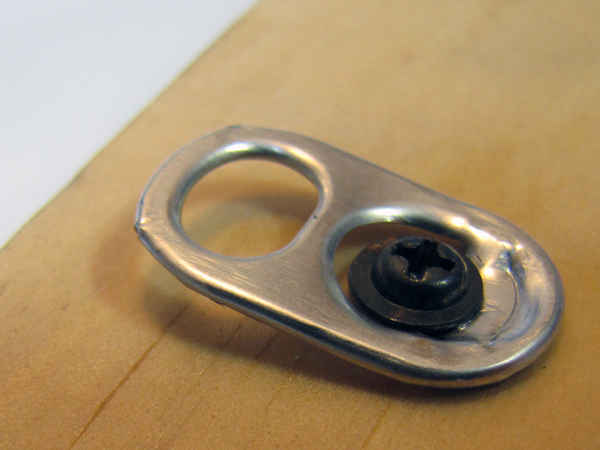 Make: Projects – Hang a picture from a pull tab