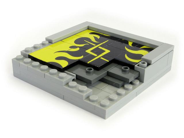 """Lego sliding block """"15"""" puzzle"""