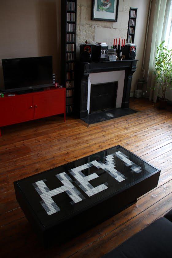 DIY Lego/Ikea table