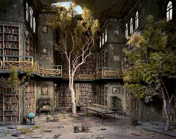 Lori Nix's Dioramas