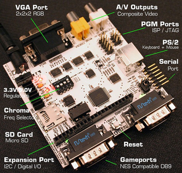 In the Maker Shed: XGS AVR 8-Bit development system