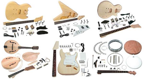 In the Maker Shed: Guitar, mandolin and banjo kits