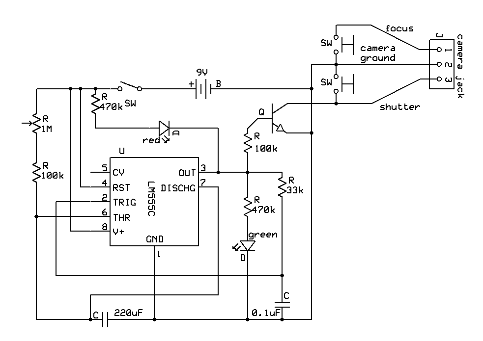 circuit board schematic diagram