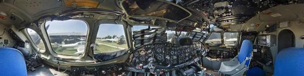 Gallery of Spherical Cockpit Panoramas