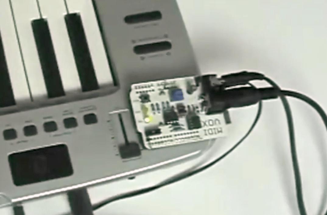 MidiVox Arduino Shield on Make: Live ep01