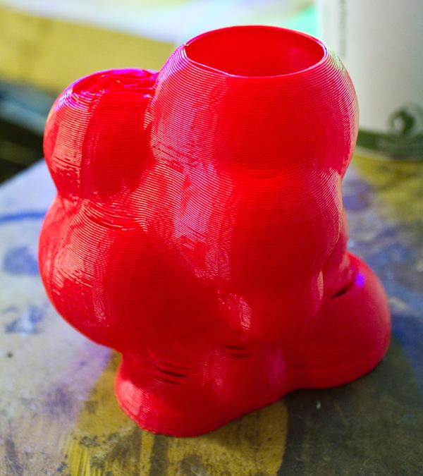The Prints of MakerBot Artist-in-Residence Marius Watz