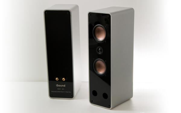 Homebrew iSound speakers look pro