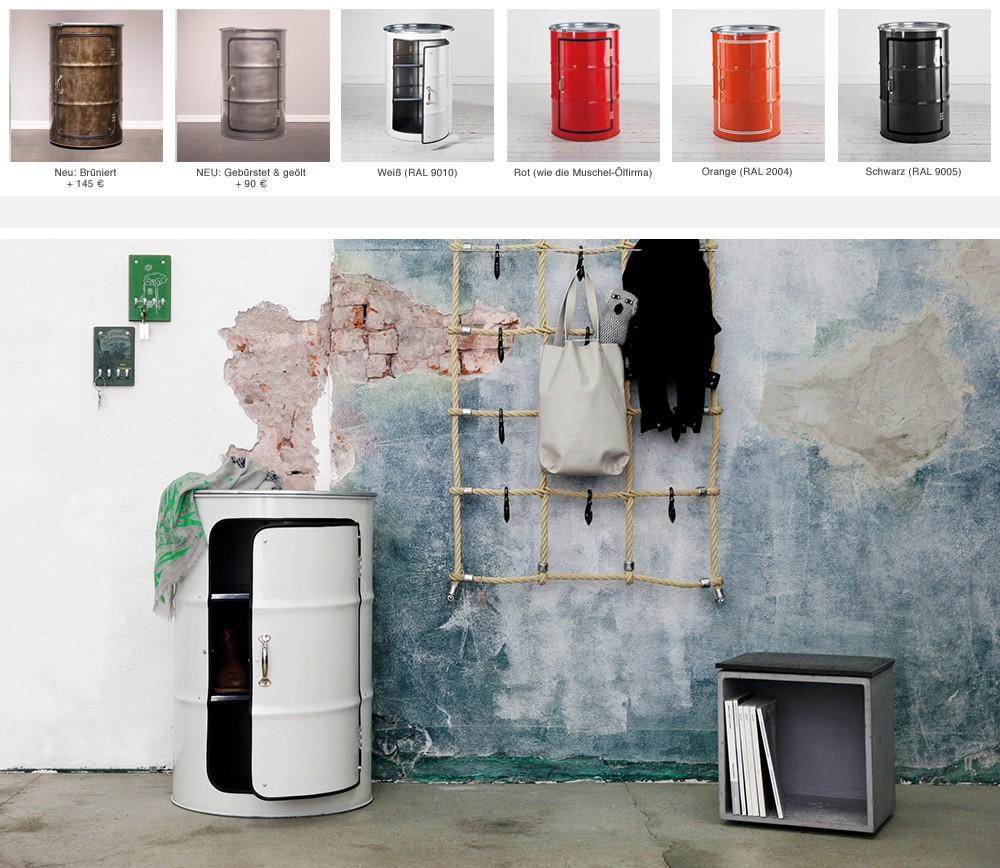 oil drum cabinet