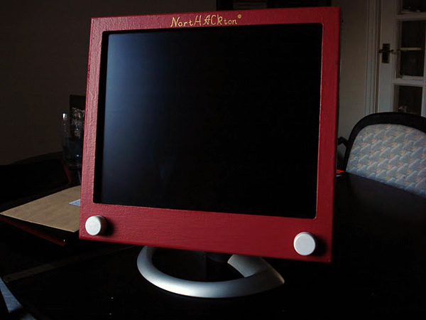 Etch-a-sketch computer