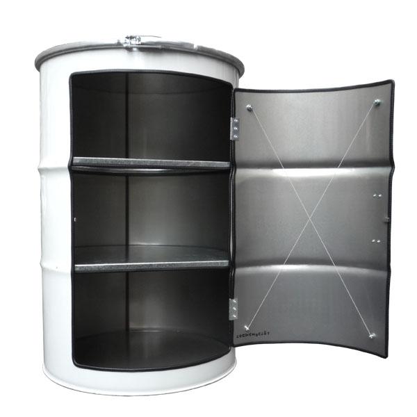 Oil Drum Cabinet | Make: