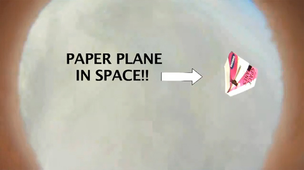 High Altitude Paper Airplanes