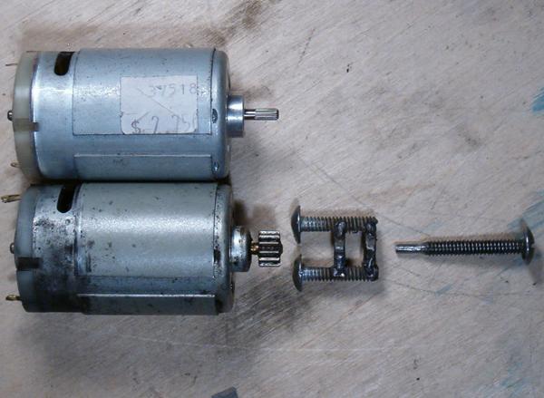 Homebrewed Gear Puller