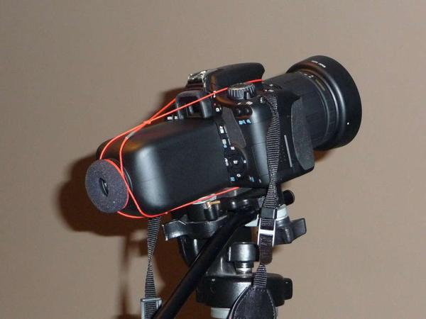 DIY DSLR LCD Viewfinder