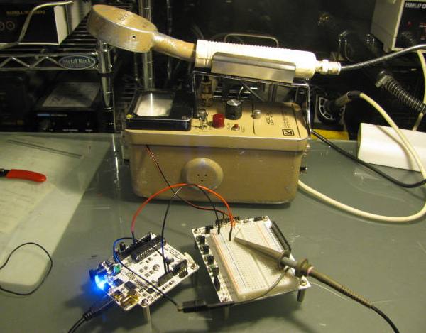 Hacking a Geiger Counter