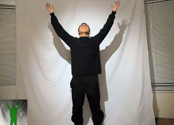 Dramatic Gestures With Kinect