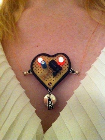 Beating Heart LED Pendant
