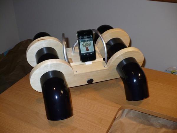 iPhone T Amp Speaker Dock